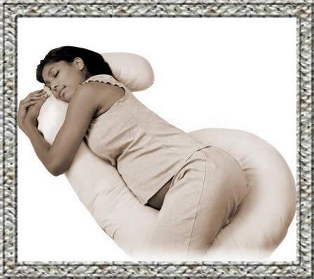 almohadas para embarazadas