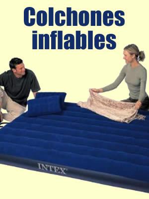 precios colchones inflables intex
