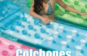 colchones inflables piscinas