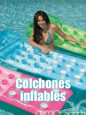 colchones inflables piscinas