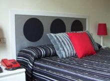 cama con cabesero realizado artesanalmente