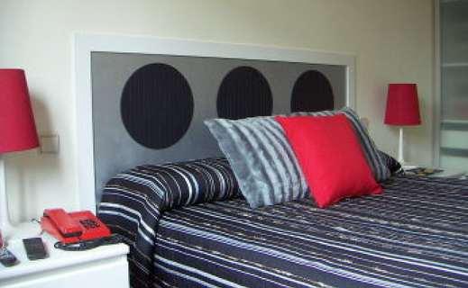 cama con cabesero realizado artesanalmente - Cabezales De Cama Caseros
