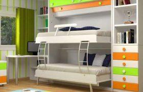 camas dobles plegables juveniles
