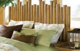 cabeceros de bambu