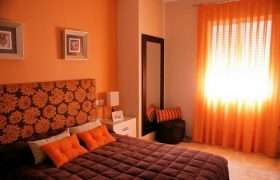 cortinas naranja