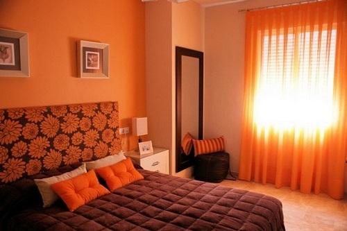 Cortinas para dormitorio 6 puntos a tener en cuenta for Cortinas naranjas