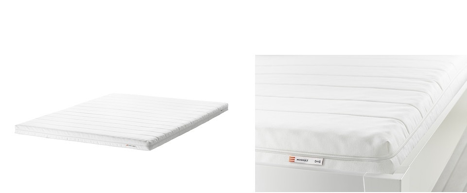 Precios colchones ESPUMA en IKEA.   2018   SuDormitorio.com