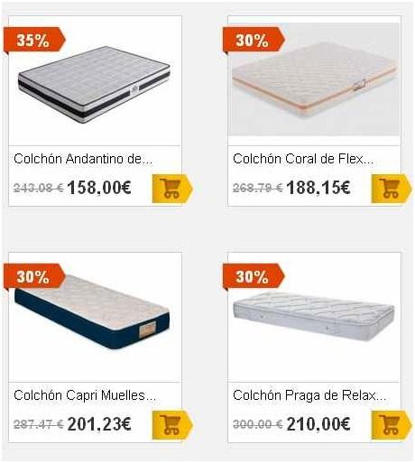 Colchon Alcampo para cama individual