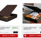 precios canapés conforama