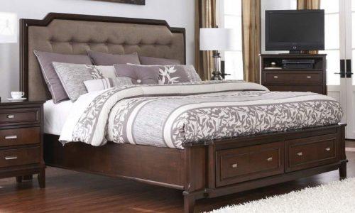 camas de madera de lujo