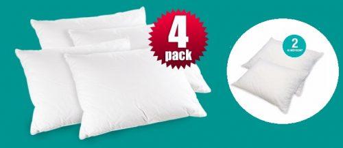 Paquetes de 4 almohadas Sognare