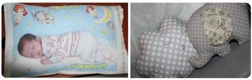 Diseños para almohadas infantiles