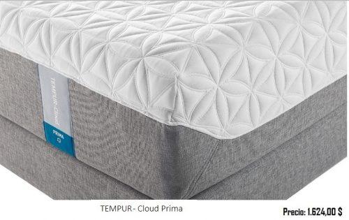 Modelos TEMPUR- Cloud Prima