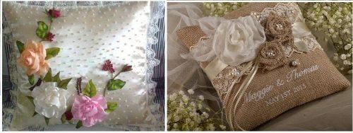 Almohadas para bodas