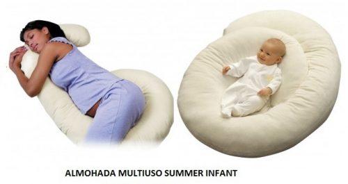 Almohadas para embarazadas multiusos