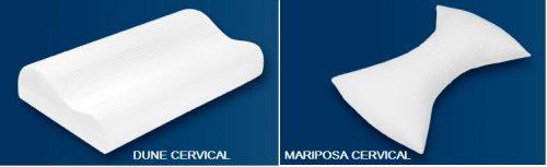 Almohadas con diseño ergonómico