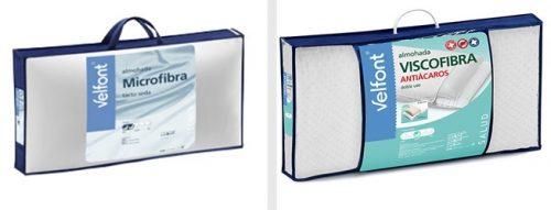 Almohadas Microfibra y Viscofibra