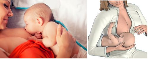 Recomendaciones para amamantar al bebé