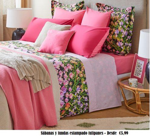 Sábanas de Zara Home para cama de 1.80