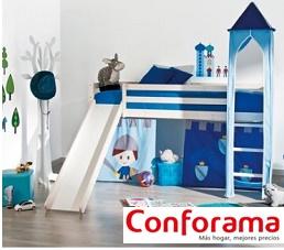 Literas Y Mezzanines Para Niños En Conforama 2019sudormitoriocom