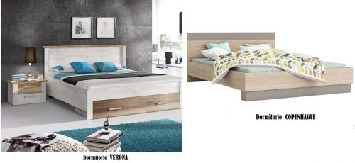 Dormitorios VERONA y COPENHAGUE