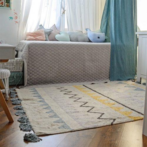 alfombras delicadas y suaves