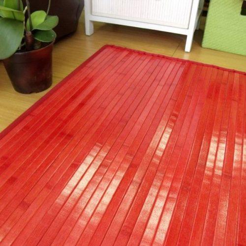 mantenimiento de las alfombras de bambu