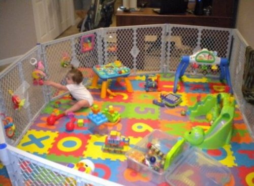 Alfombra puzzle 8 dise os ideales para el dormitorio de - Alfombra suelo bebe ...