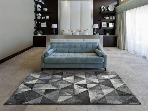 alfombras con formas geomtricas modernas - Alfombras Modernas