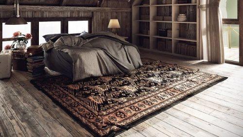 decora con las alfombras persas
