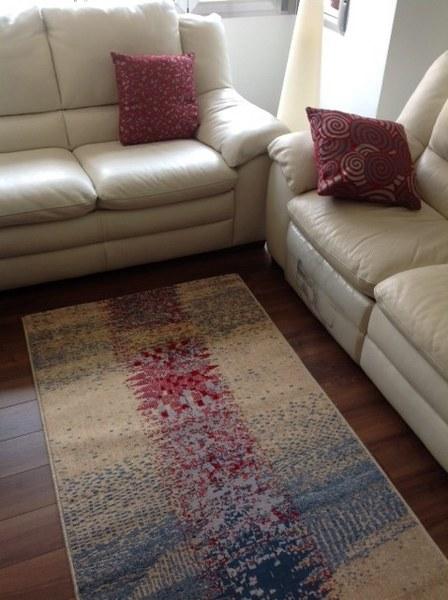 Alfombras de lana hermosos dise os para el dormitorio - Alfombras de pasillo modernas ...