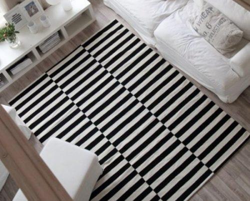 alfombras de lana tamaños
