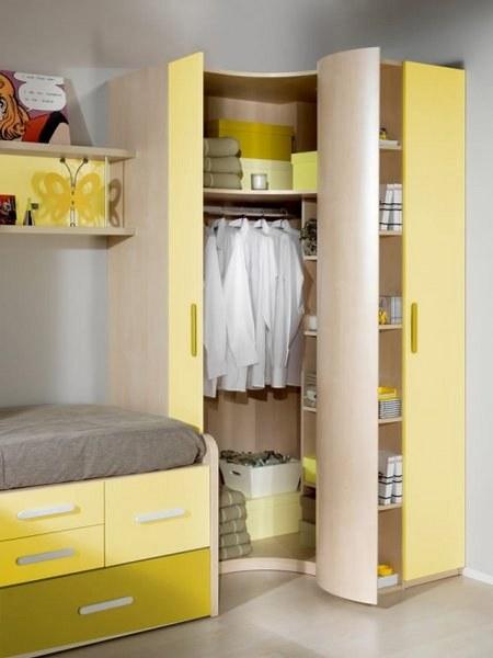 armarios esquineros para niños