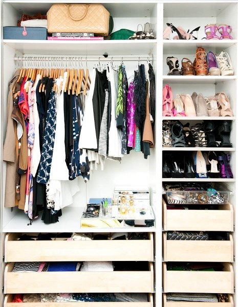 Sencillos pasos para ordenar tu closet