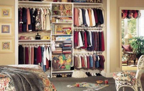 Tips para organizar armarios