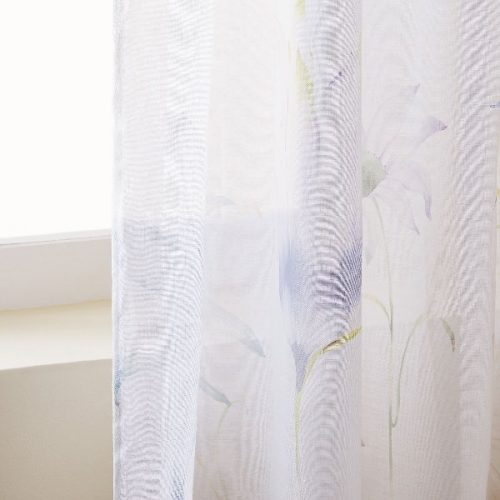 Cortinas ZARA HOME LINO ESTAMPADO