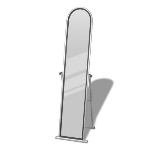Espejos de pie baratos Rectangular Gris